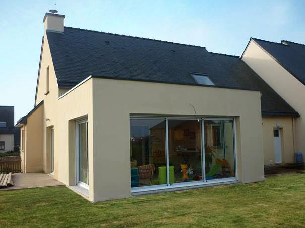 Extension maison parpaing top charmant demande d maison for Demande agrandissement maison