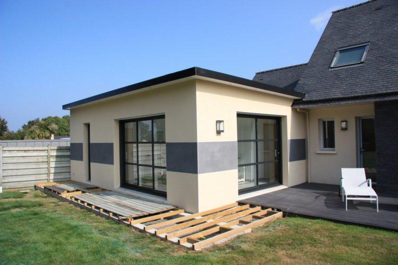 Extension Habitation extension, rénovation, maçonnerie à saint-brieuc côtes d'armor : anov
